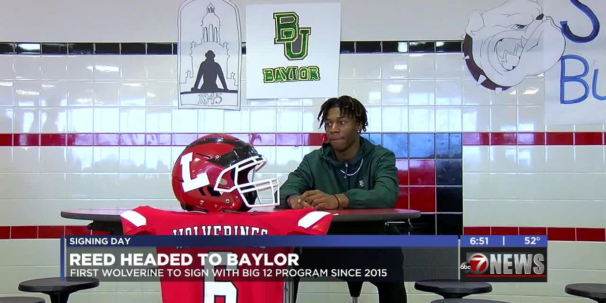 Lawton High's Reed signs with Baylor