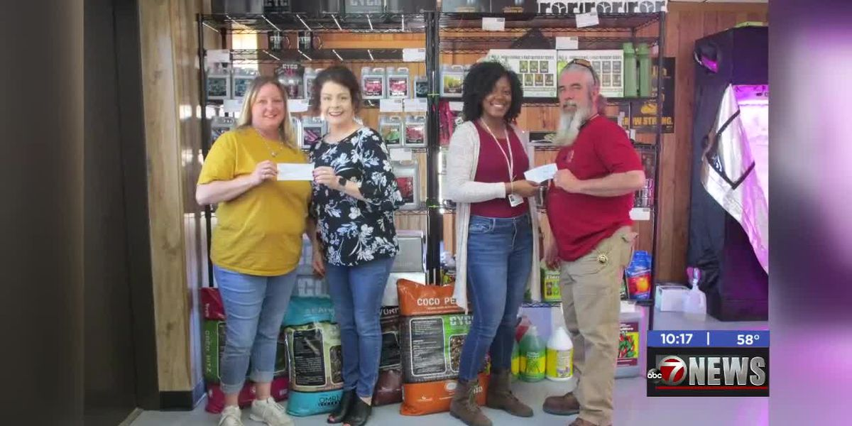 Local business donates to ASYMCA and Veteran's Center