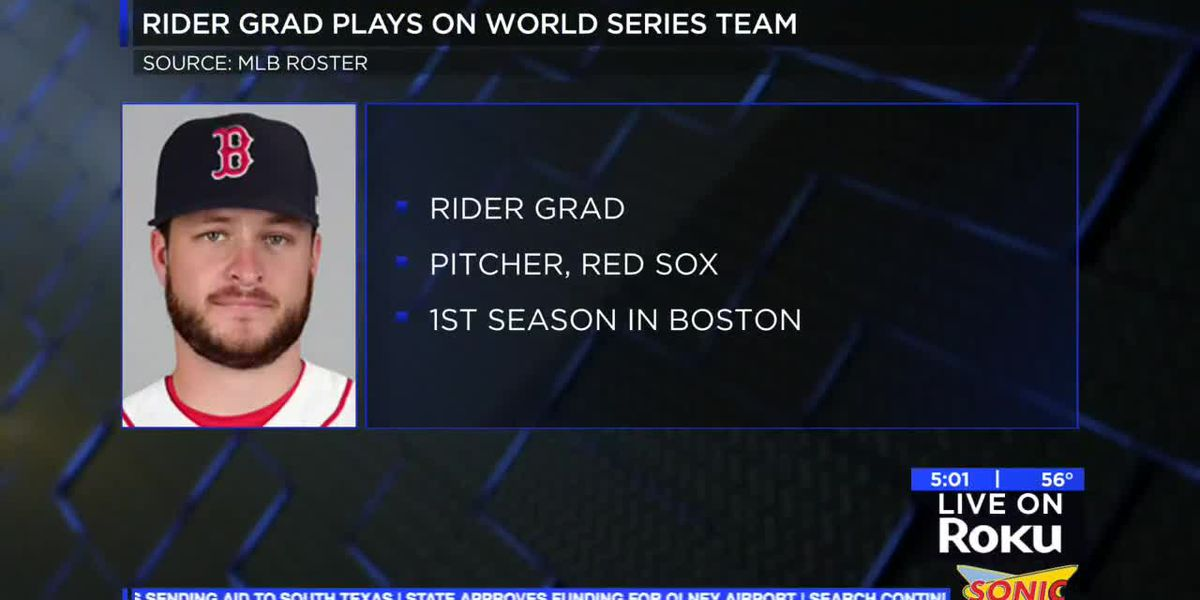Rider High School graduate celebrates World Series win