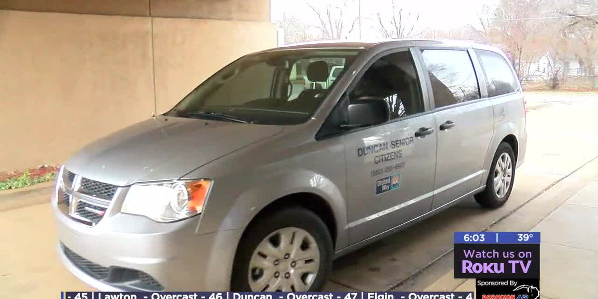 Fundraiser allows Duncan senior center to get new van