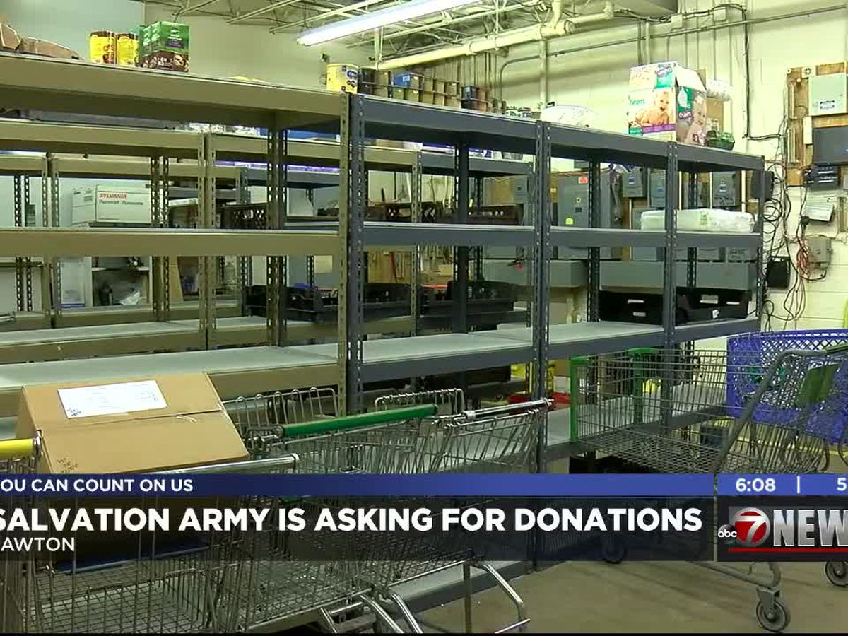 Salvation Army asking for donations