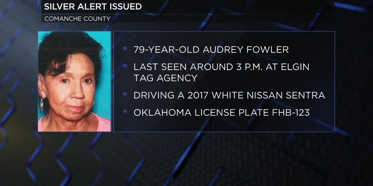 SILVER ALERT: Comanche County woman missing