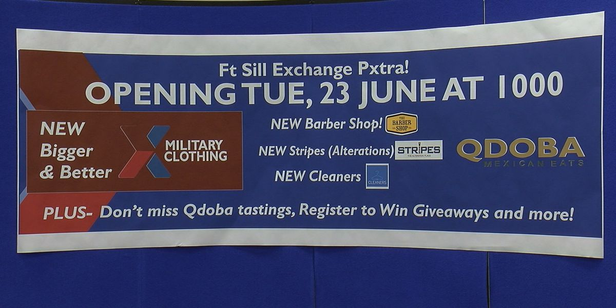 Grand opening held for Pxtra on Fort Sill