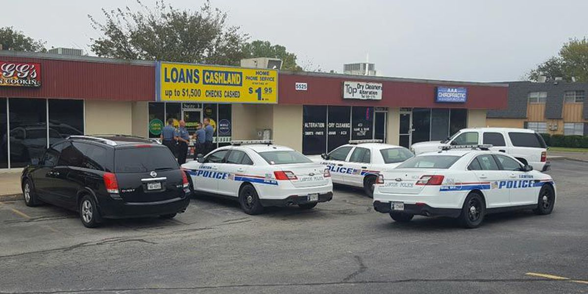 Lawton Police Investigating Possible Armed Robbery