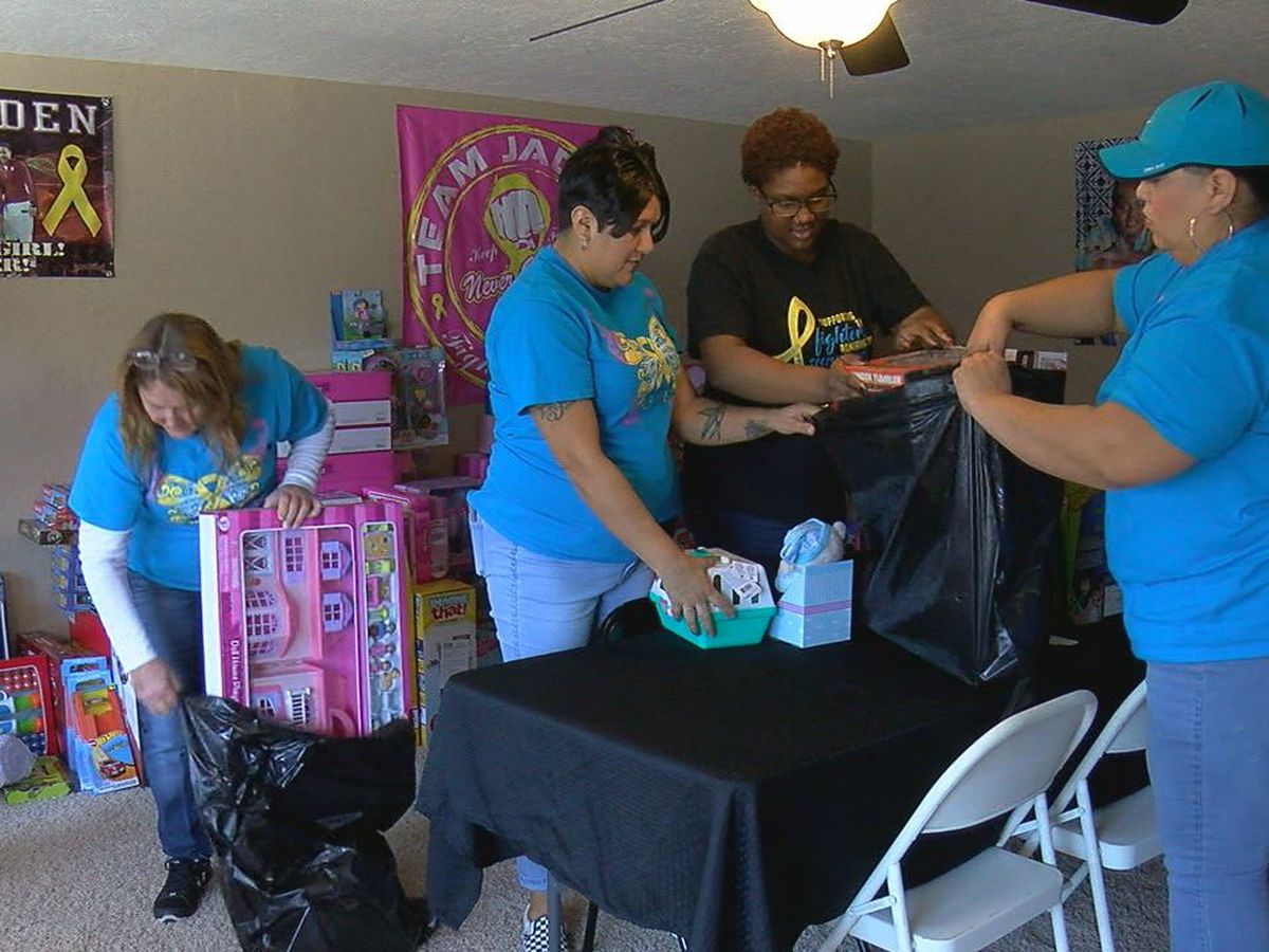 Lawton teen's giving spirit lives on through her family during the holiday season