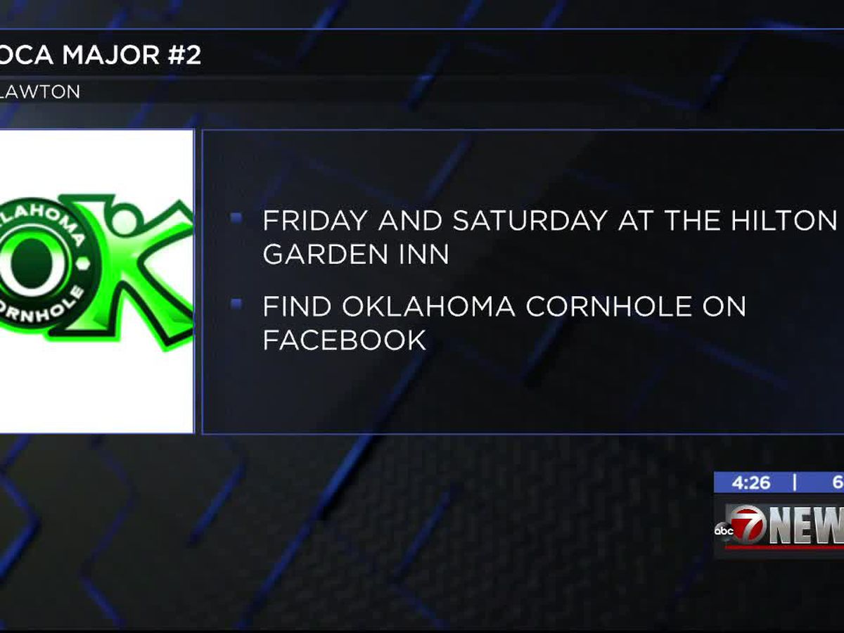 Oklahoma Cornhole Association tournament happening in Lawton