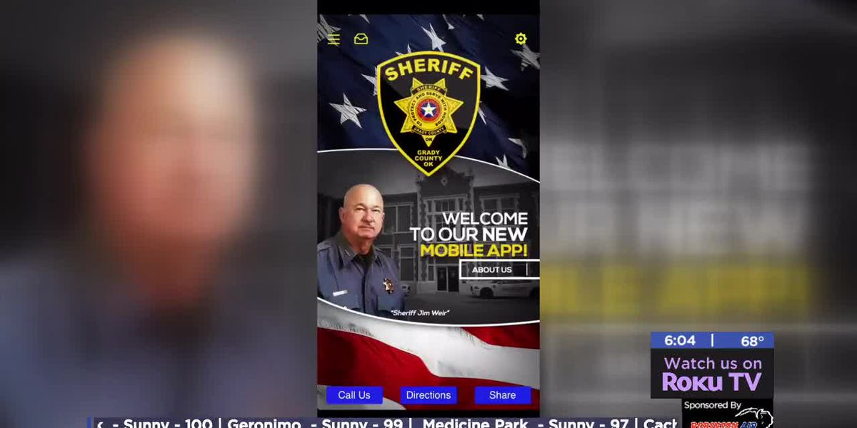 Grady County Sheriff's Office unveils new app