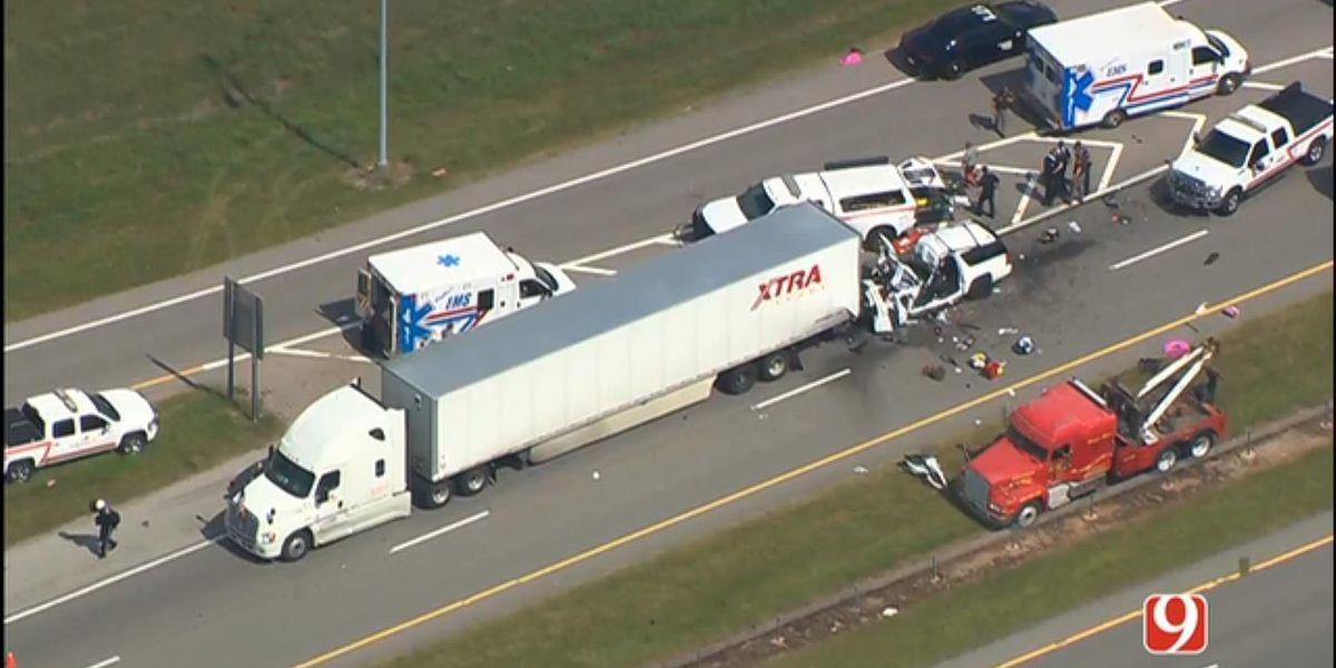 13-year-old girl dies, is fourth victim of interstate crash