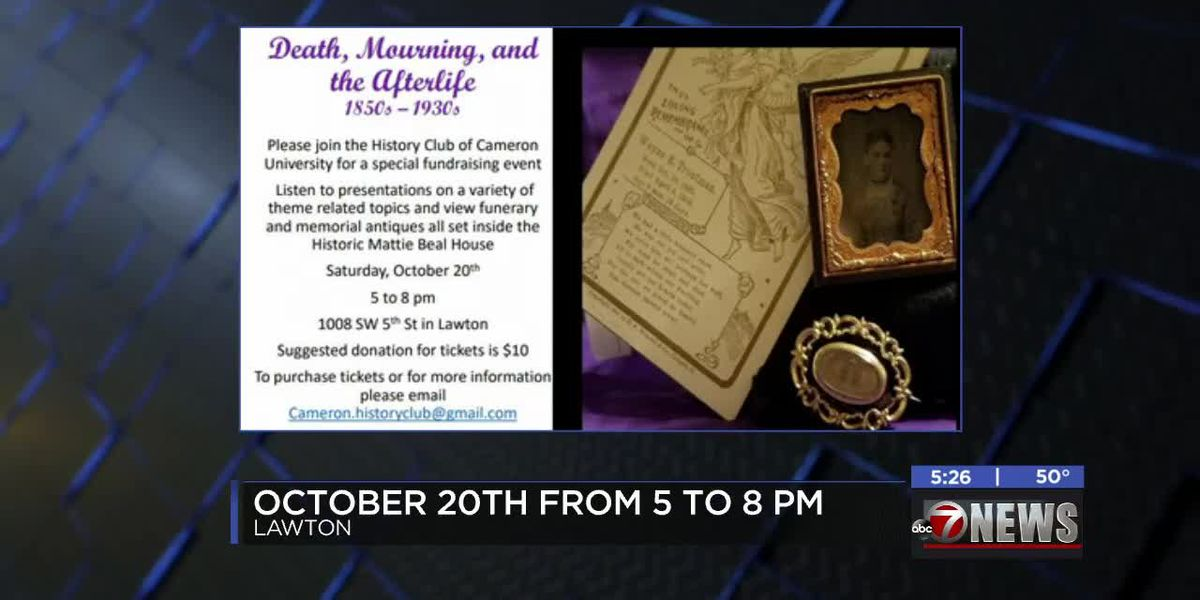 Cameron's History Club holding spooky fundraiser at the Mattie Beal House