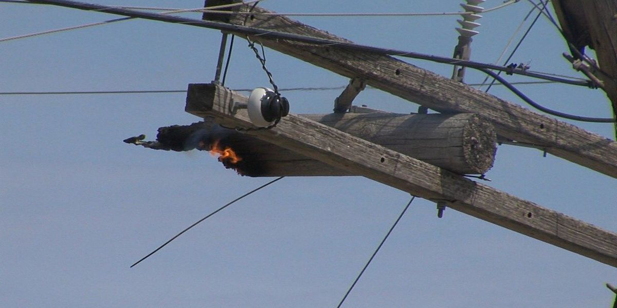 Transformer fire cuts power to businesses