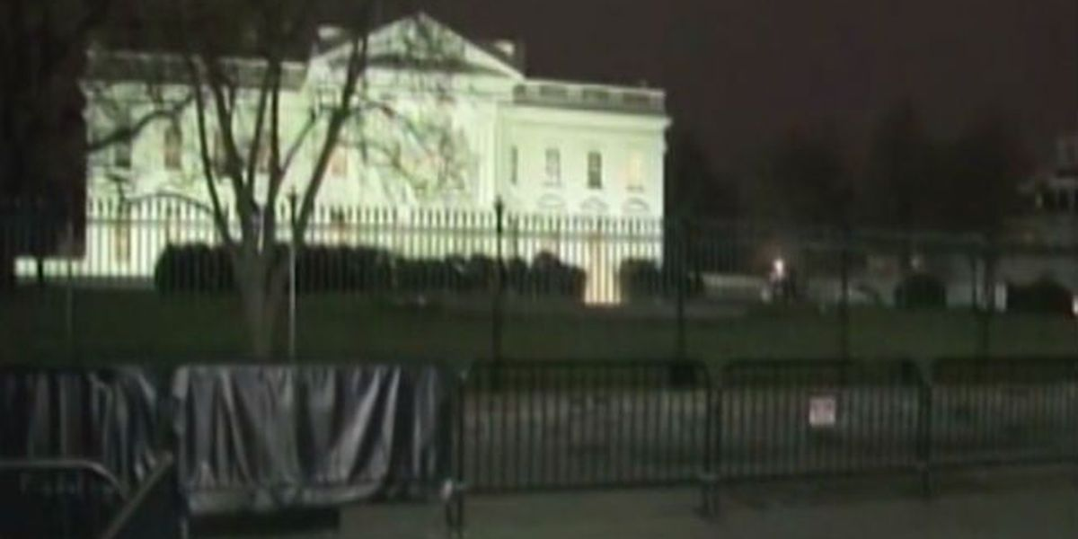 OK man arrested at White House after threatening the President
