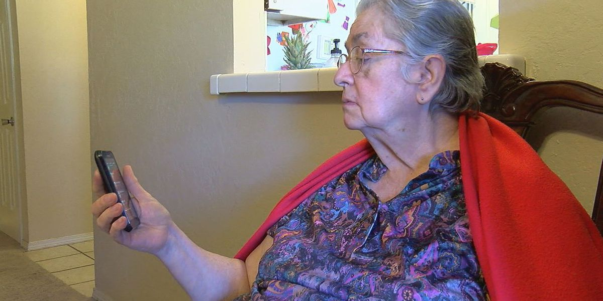 Elderly woman warns residents of sweepstakes scam