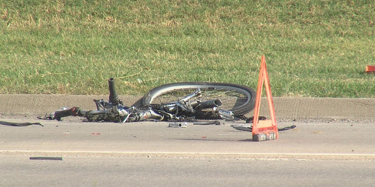 Bicyclist hit by dump truck in Lawton