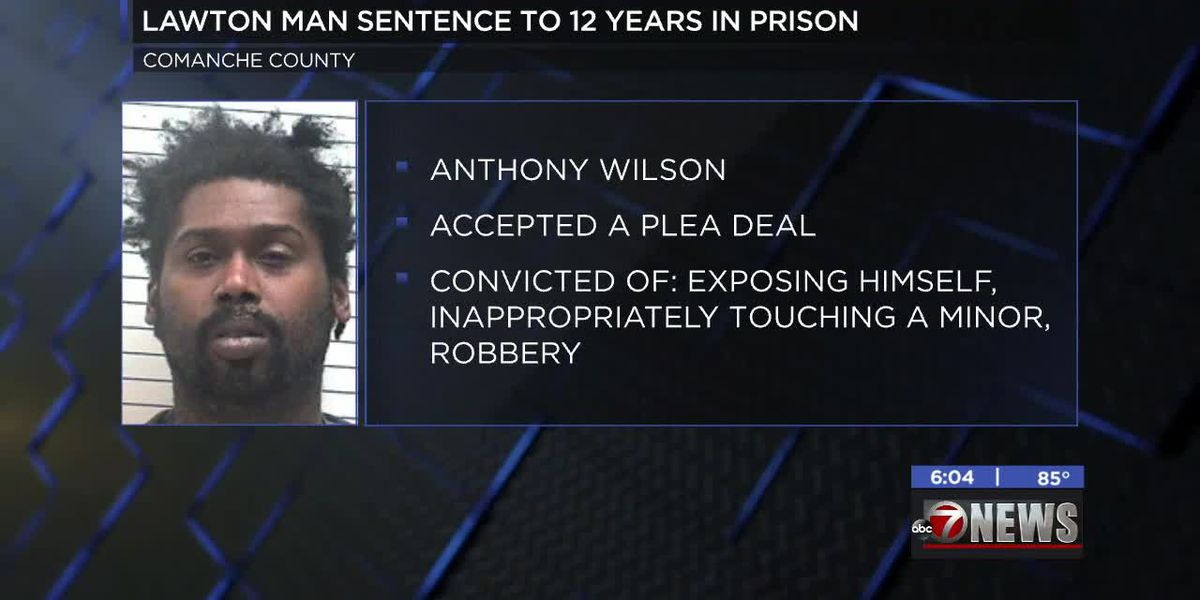 Lawton man sentenced to 12 years in prison