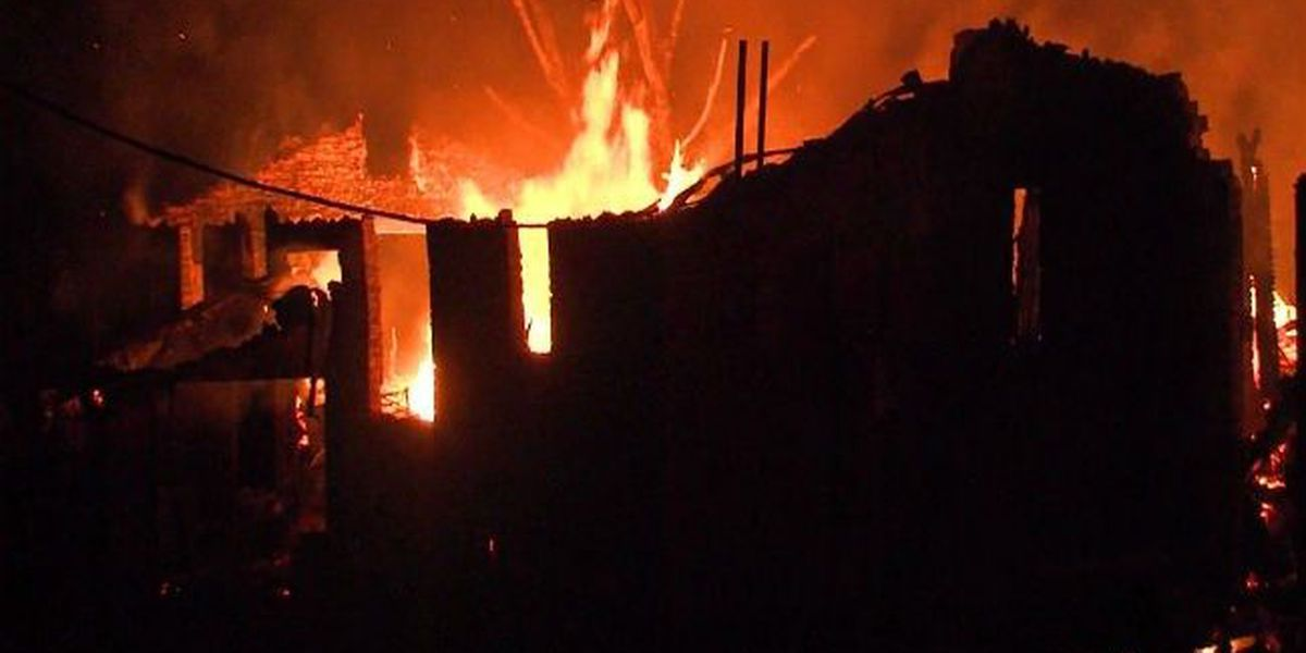 Lake Kickapoo home destroyed in fire