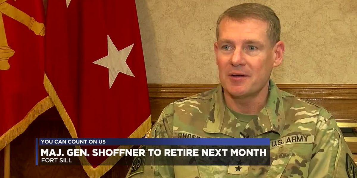 Major General Wilson Shoffner to relinquish command