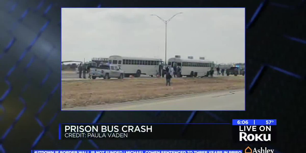 DPS: No prisoners escaped following bus crash near Seymour