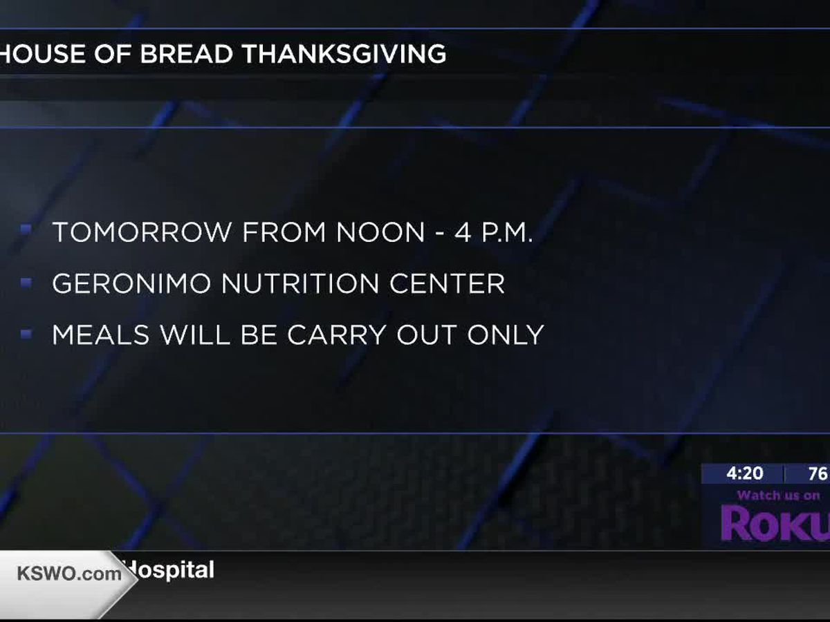 House of Bread Ministry holds free Thanksgiving dinner