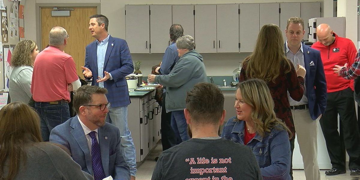Duncan teachers discuss issues with state lawmakers
