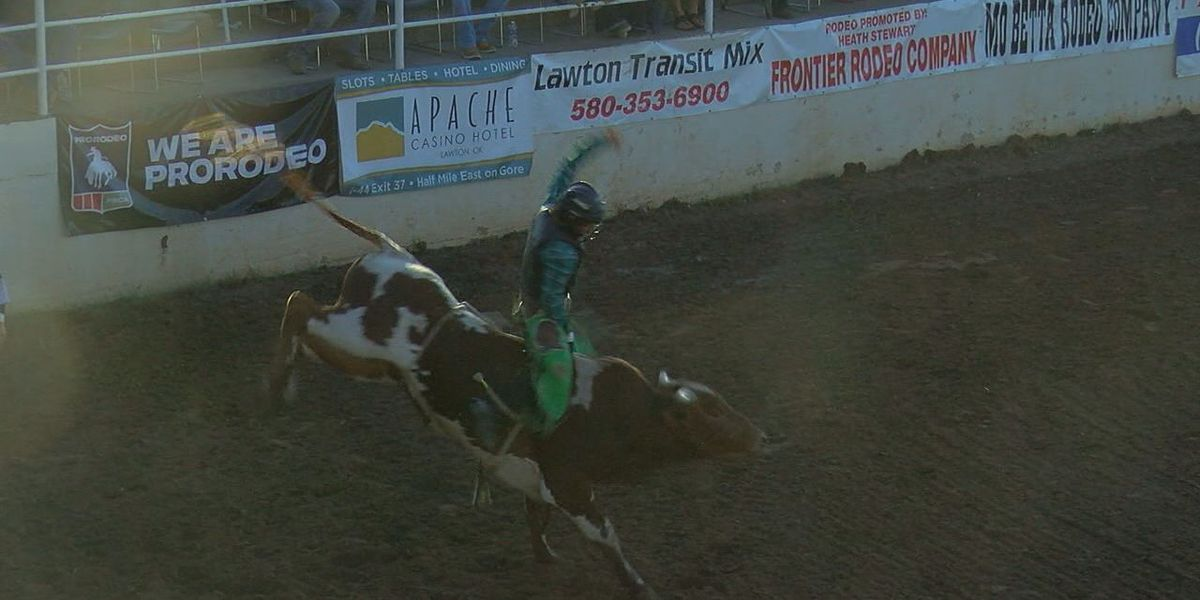 Bull fighter, rider talk Liberty National Bank PRCA Rodeo Xtreme Bulls Tour in Lawton