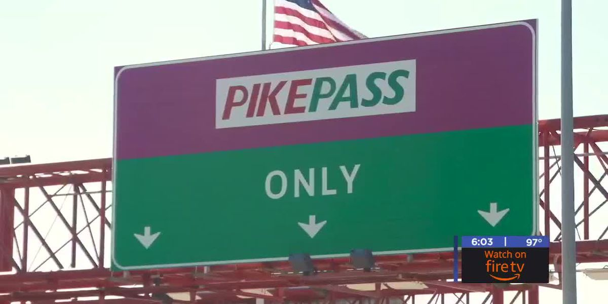 Cash toll increase now in effect