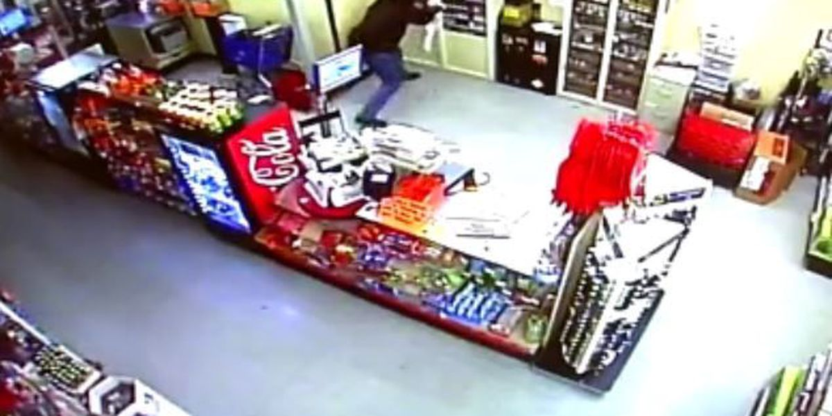 OK man wearing underwear on his head burglarizes businesses just for cigarettes