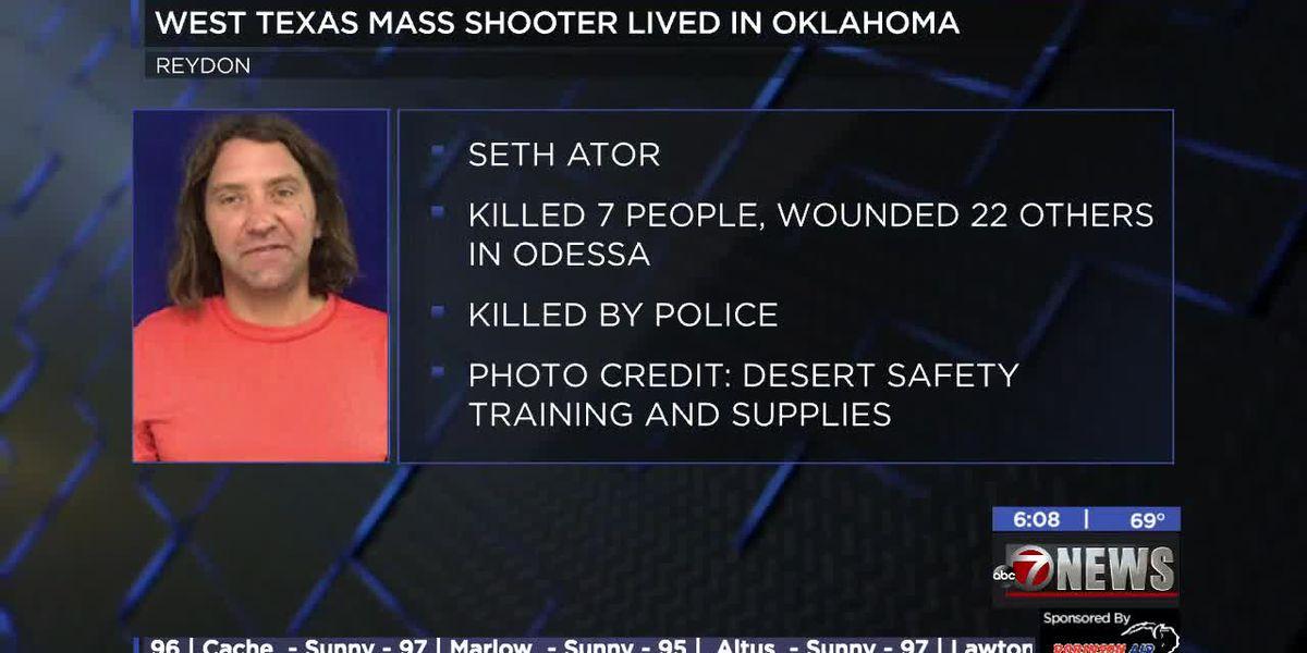 Odessa shooter has ties to Oklahoma