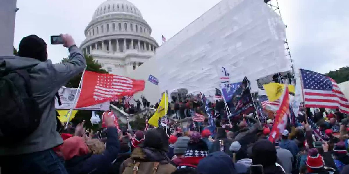 Anti-Semitism seen in Capitol insurrection raises alarms
