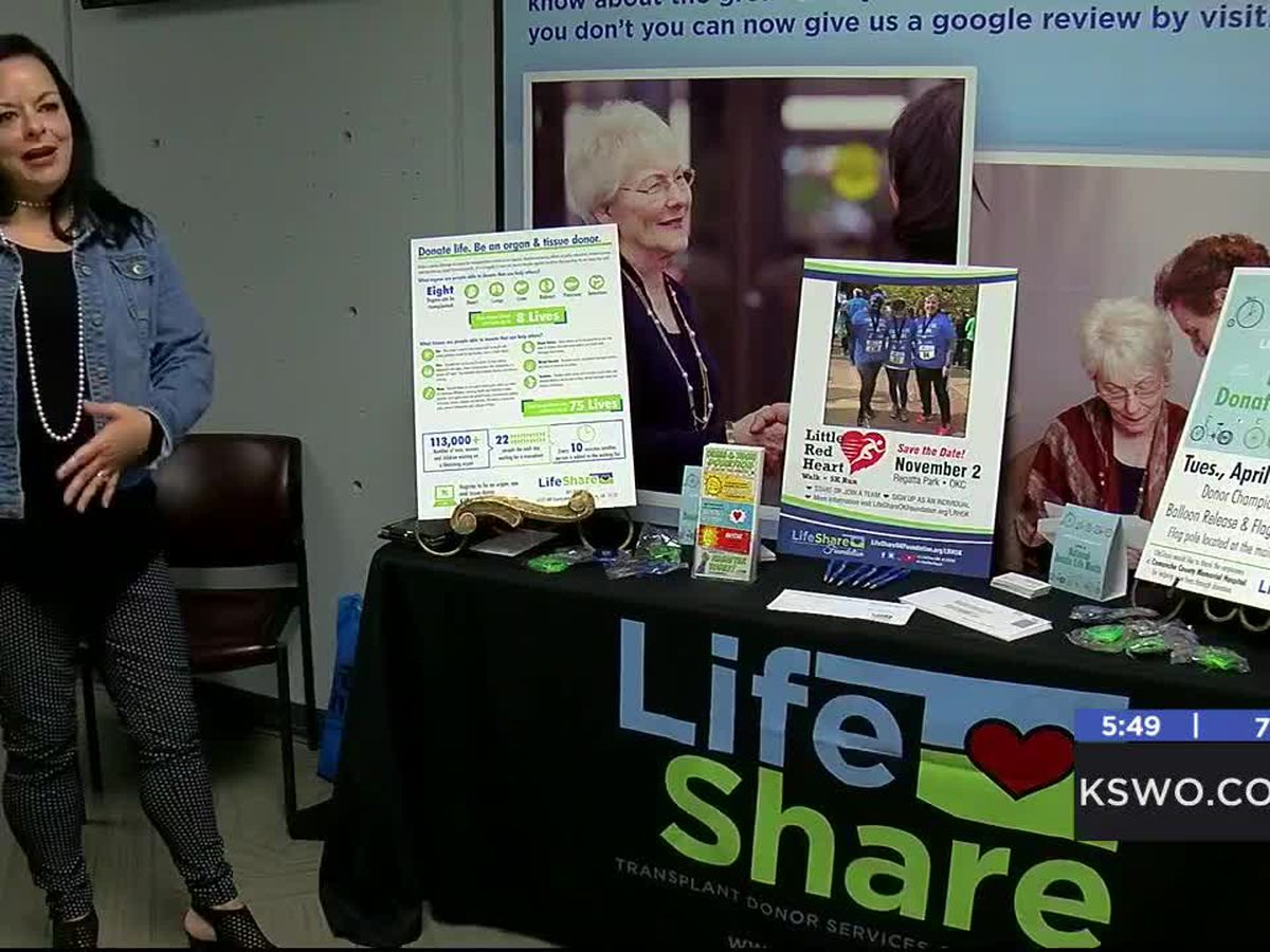 MedWatch: Woman spreads awareness of organ donation