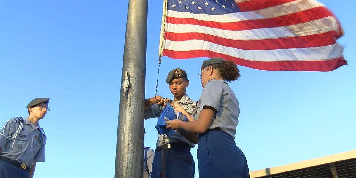JROTC cadets commemorate 9/11