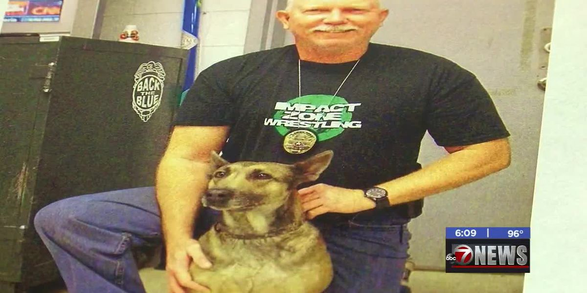 Lawton K-9 officers honored