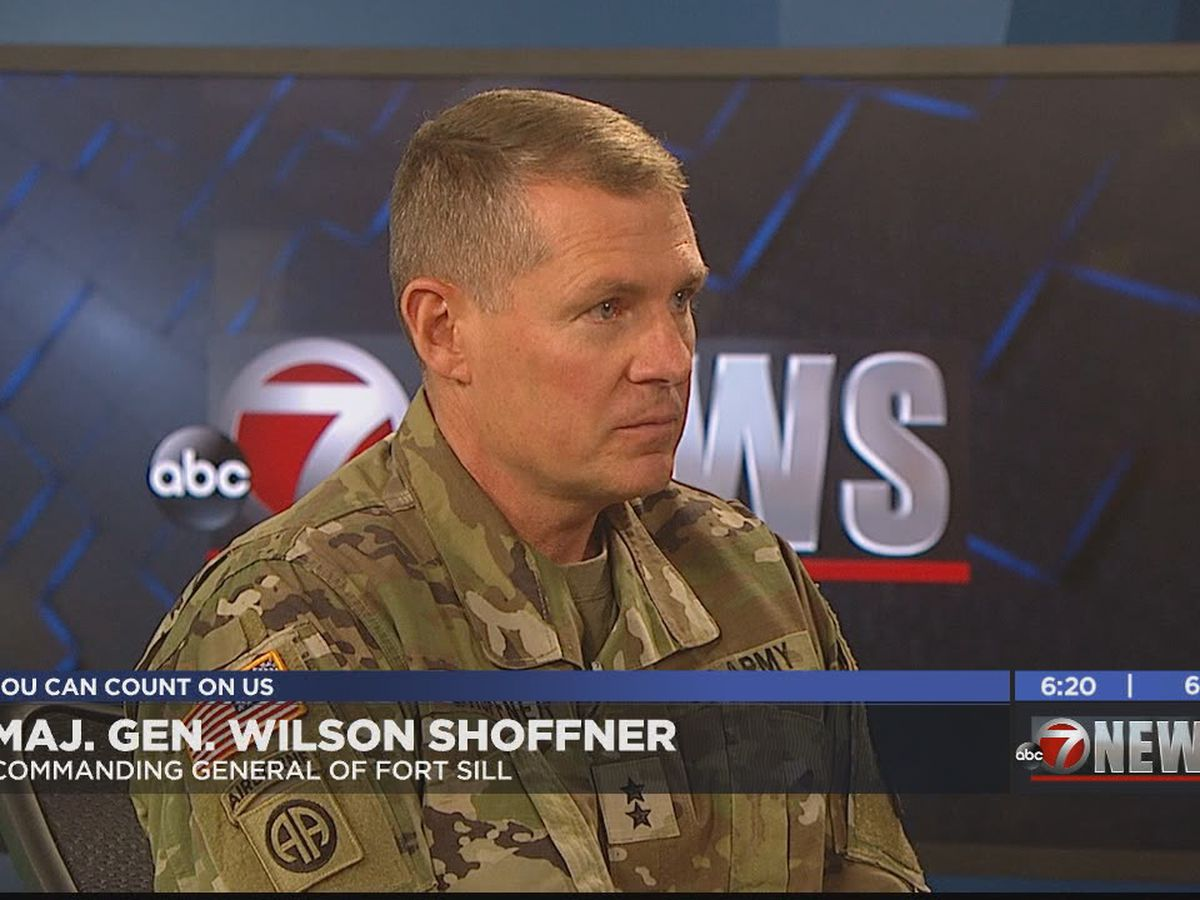 In Studio: Fort Sill Commanding General Major General Wilson Shoffner