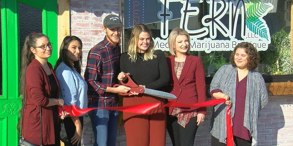 Ribbon-cutting held for new Cache business, leaders hope others will follow