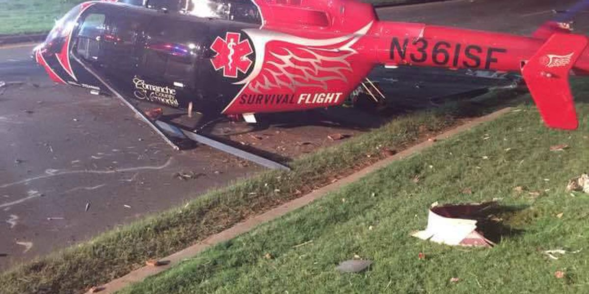 Survival Flight issues statement about Lawton helicopter incident