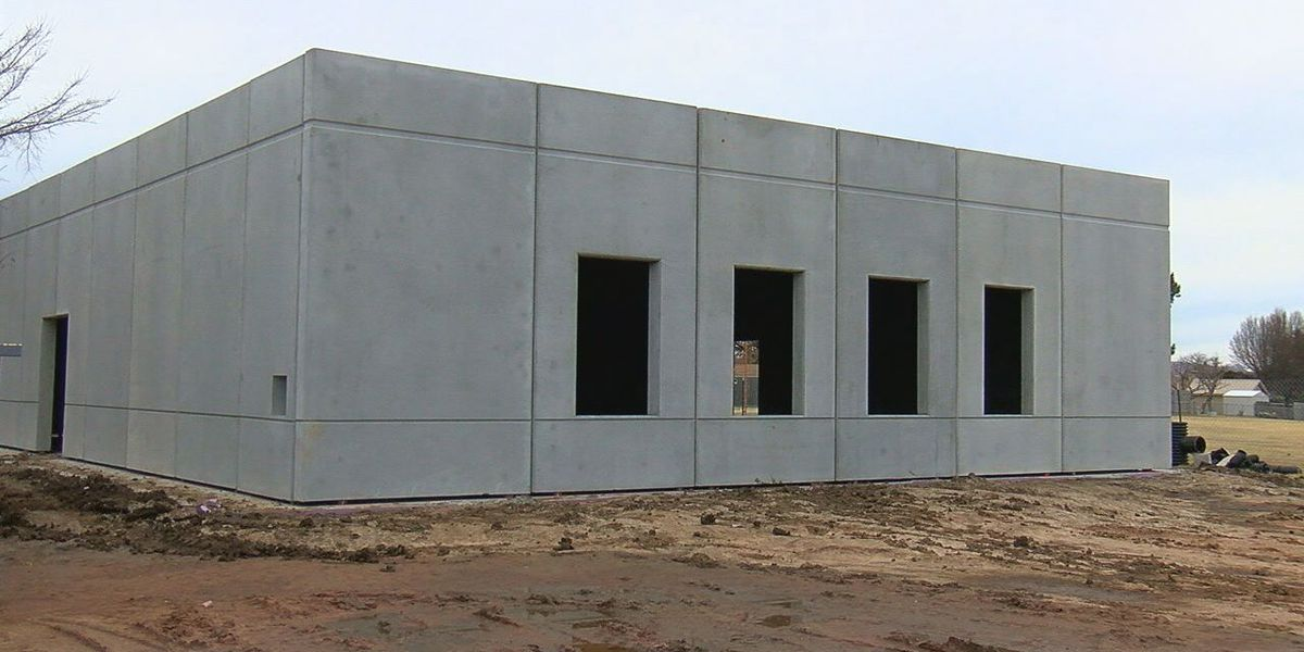 LPS storm shelter construction underway