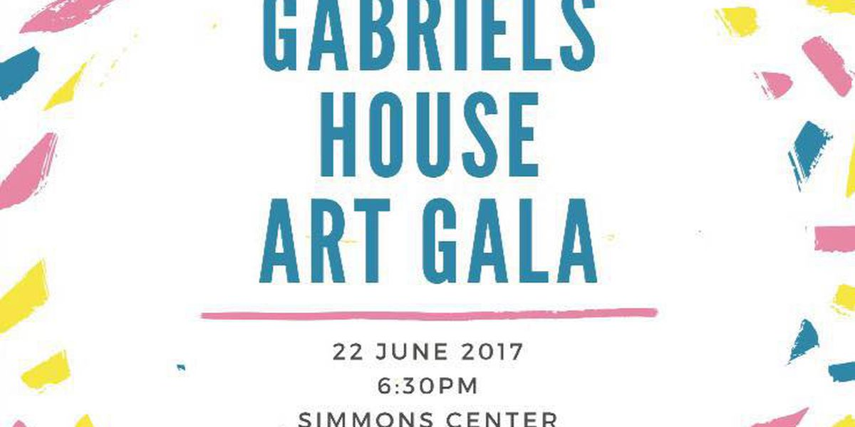 Gabriel's House benefit dinner and art auction is June 22nd