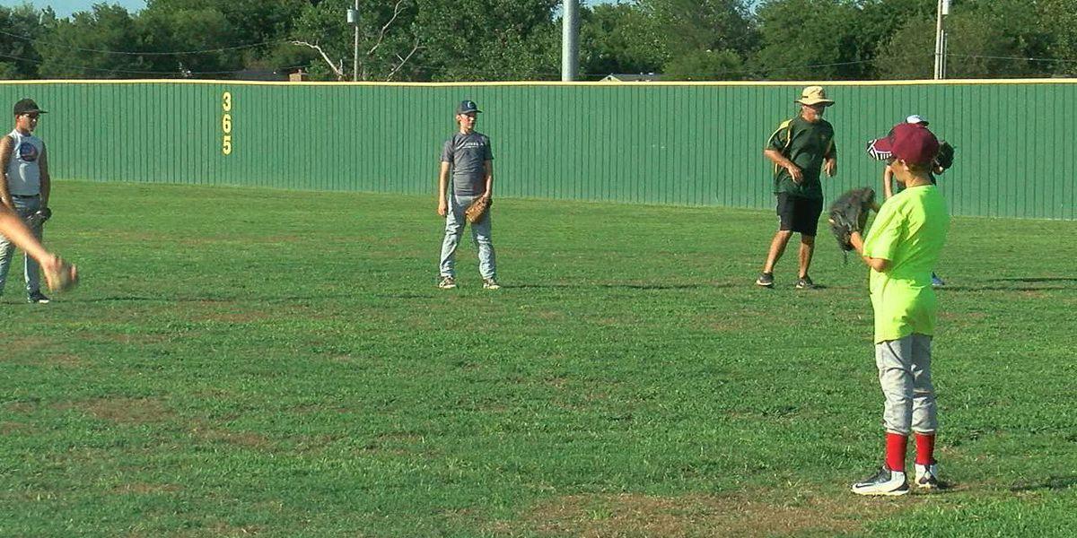 Students prepare for high school baseball at MacArthur Baseball camp