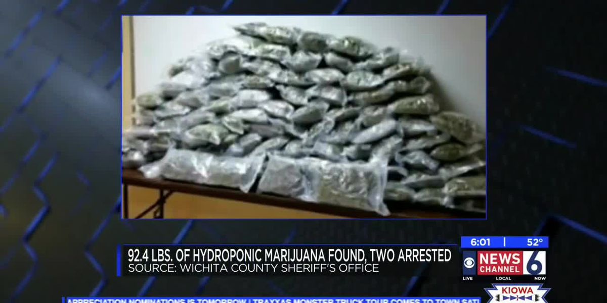 Nearly 100 pounds of marijuana found in Wichita Falls traffic stop