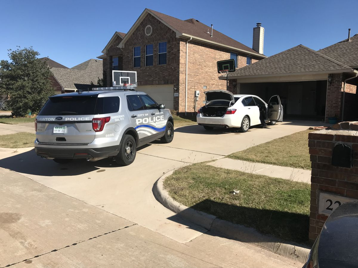 Lawton homeowner finds burglars in her home, GPTC locked down
