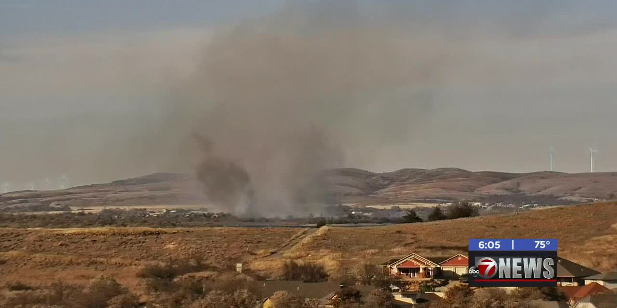40 acres burned in northern Comanche County