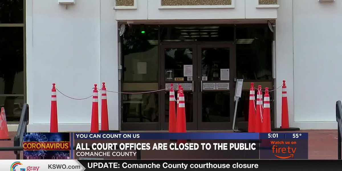 UPDATE: Comanche County courthouse closure