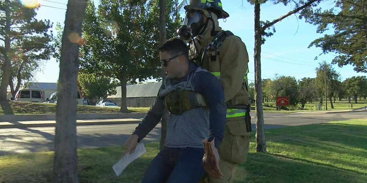 First responders perform postwide exercise on Fort Sill