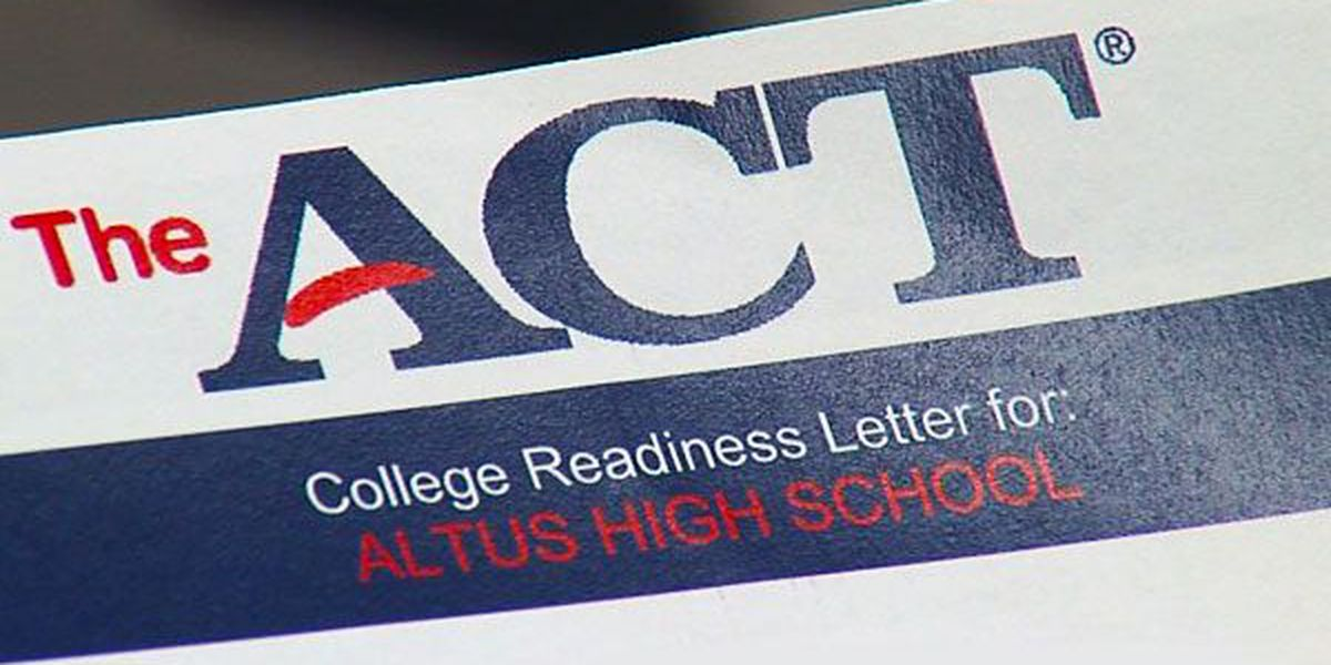 Altus students beat state ACT average