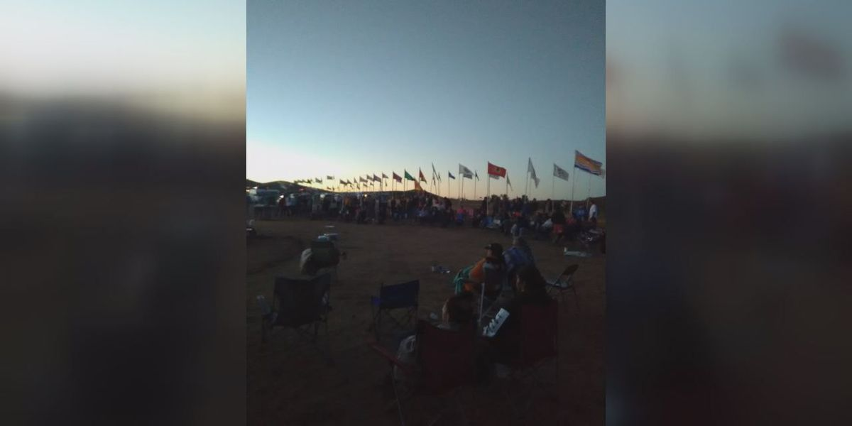 """""""We are water protectors:"""" Lawton man at Standing Rock protests"""