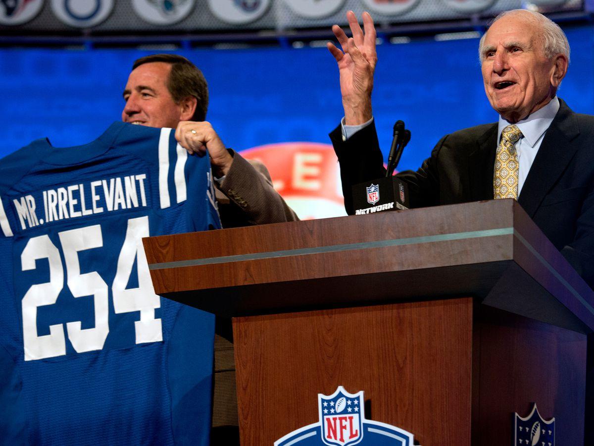 Caleb Wilson wraps up NFL Draft as newest 'Mr. Irrelevant'
