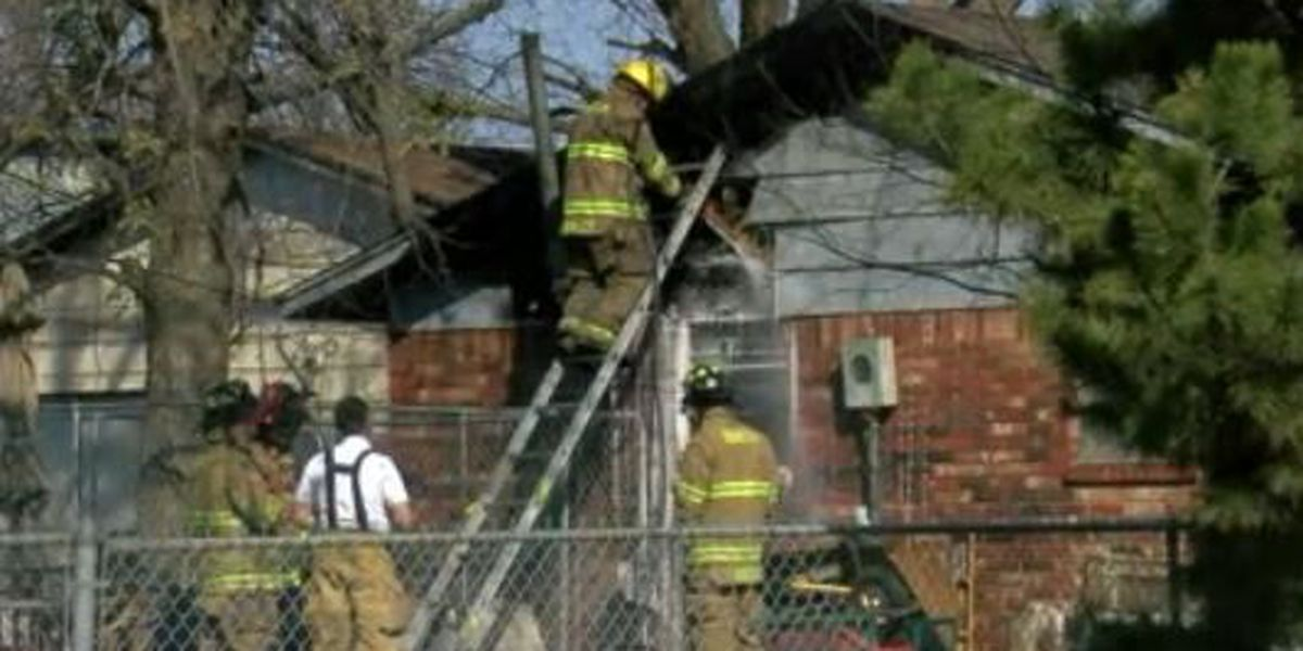 Fire damages home in Duncan