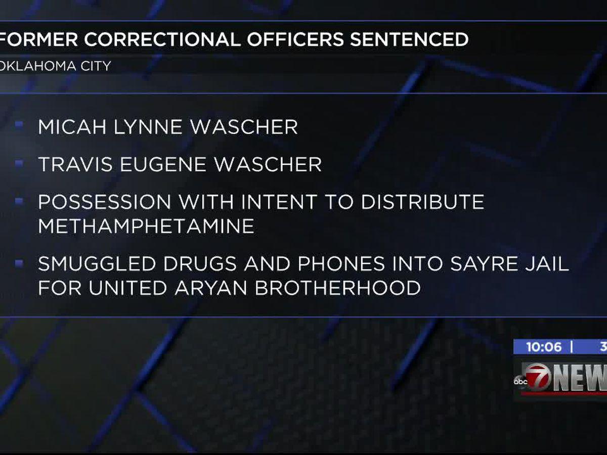 Okla. couple sentenced for distributing meth for Universal Aryan Brotherhood