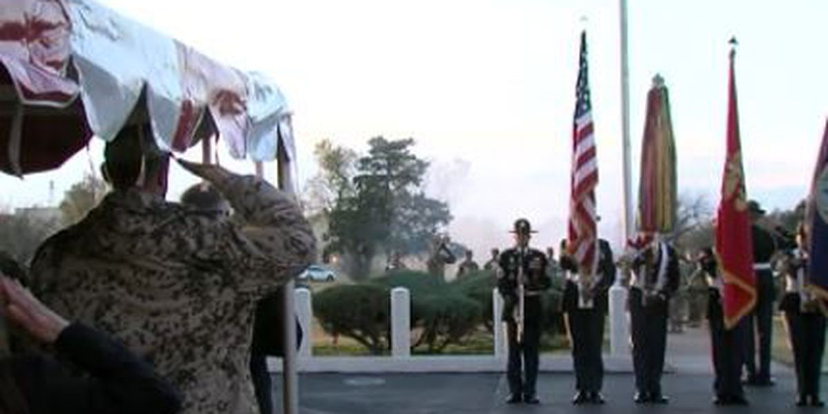 Fort Sill holds Veterans Day ceremony