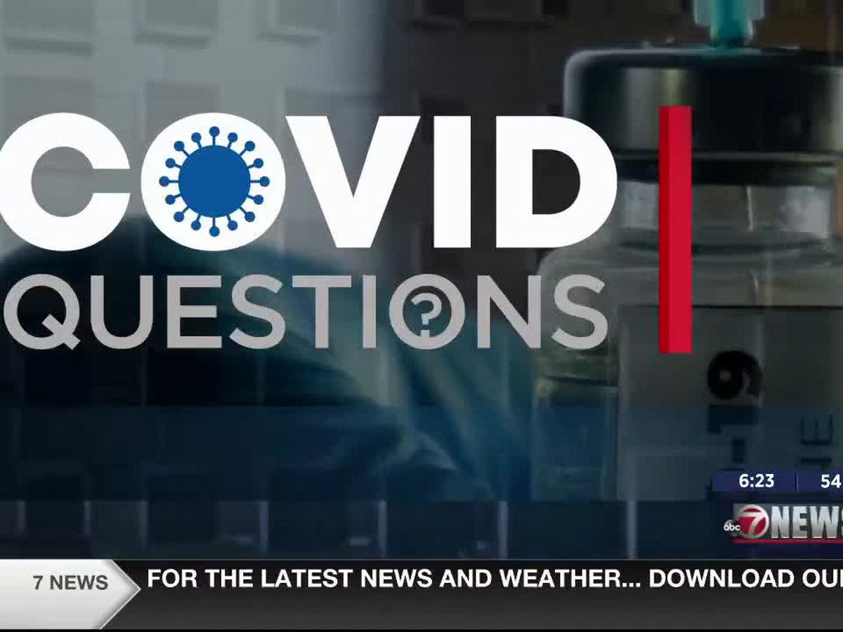 COVID Questions: CCMH gets Johnson & Johnson vaccines
