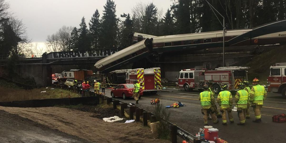 Army soldier witnessed Amtrak derailment and jumped into action